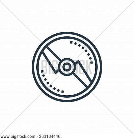 propeller icon isolated on white background from drone elements collection. propeller icon trendy an