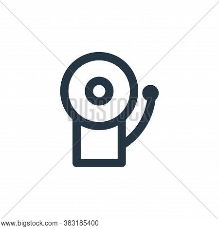 bell icon isolated on white background from education collection. bell icon trendy and modern bell s
