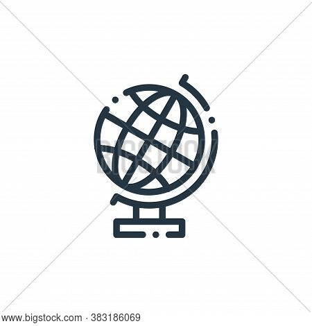 geography icon isolated on white background from education collection. geography icon trendy and mod