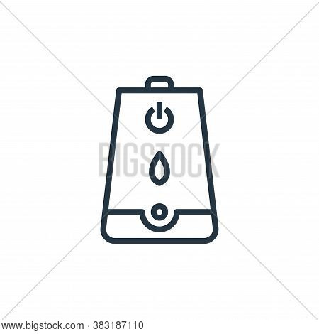 humidifier icon isolated on white background from smarthome collection. humidifier icon trendy and m