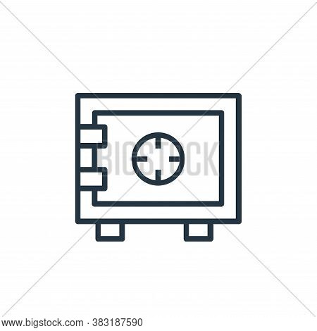 deposit icon isolated on white background from banking and finance collection. deposit icon trendy a