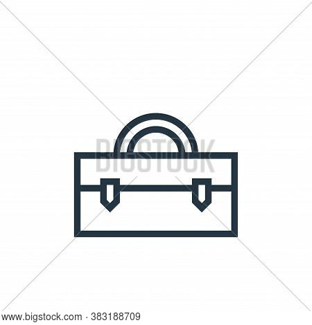case icon isolated on white background from business collection. case icon trendy and modern case sy