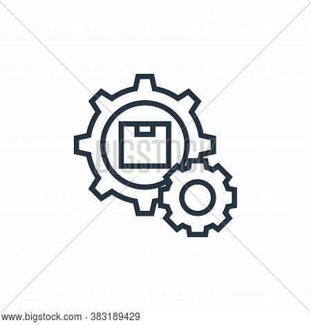 automation icon isolated on white background from industrial process collection. automation icon tre