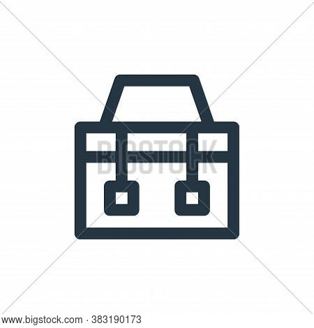 toolkit icon isolated on white background from laboor and tools collection. toolkit icon trendy and