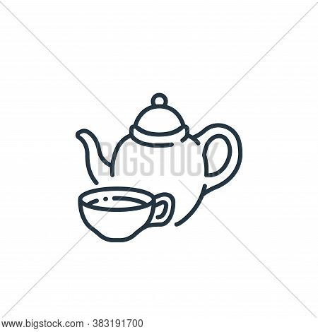 tea icon isolated on white background from england collection. tea icon trendy and modern tea symbol