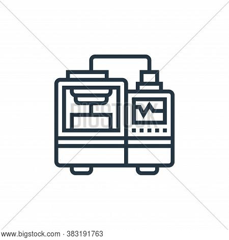 machine icon isolated on white background from industry collection. machine icon trendy and modern m