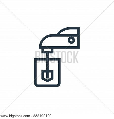 mixer icon isolated on white background from appliances collection. mixer icon trendy and modern mix