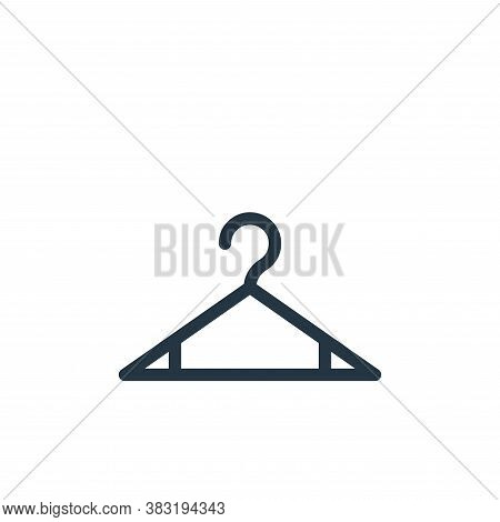 hanger icon isolated on white background from shopping collection. hanger icon trendy and modern han