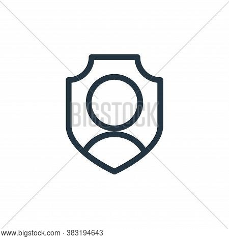 account icon isolated on white background from shopping collection. account icon trendy and modern a