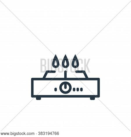 cooking stove icon isolated on white background from kitchen collection. cooking stove icon trendy a