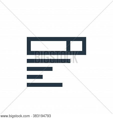 search results icon isolated on white background from marketing collection. search results icon tren