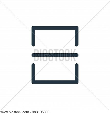 scanner icon isolated on white background from smartphone ui ux part collection. scanner icon trendy