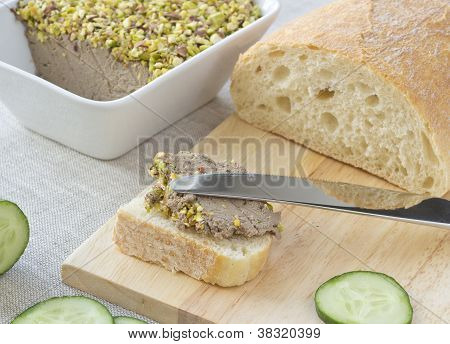 Pate Made From Chicken Liver
