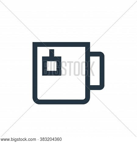 tea cup icon isolated on white background from restaurant collection. tea cup icon trendy and modern