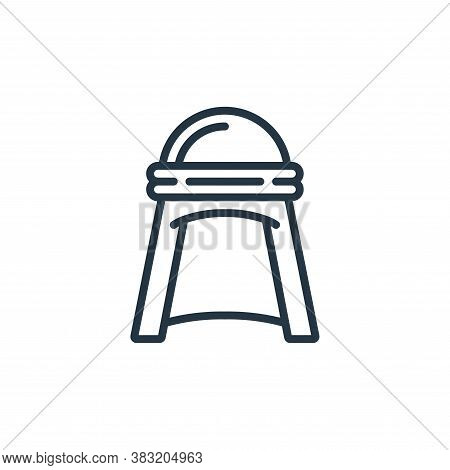 Headwear icon isolated on white background from ramadan collection. Headwear icon trendy and modern