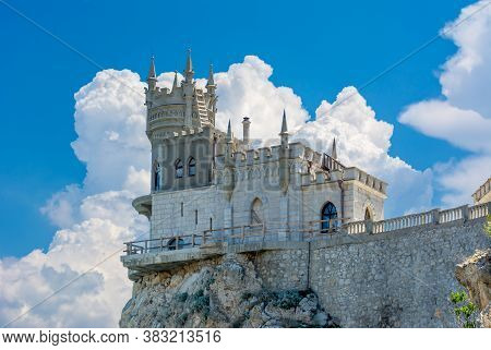 Swallow's Nest (lastochkino Gnezdo) Castle In Gaspra, South Crimea