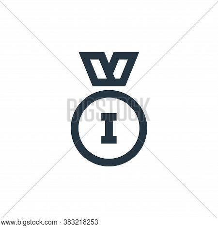 medal icon isolated on white background from sports collection. medal icon trendy and modern medal s