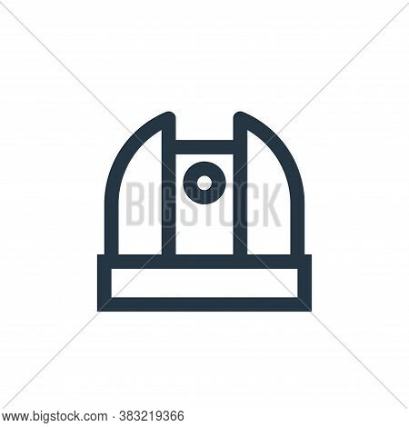 observatory icon isolated on white background from science collection. observatory icon trendy and m