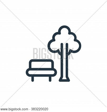 park icon isolated on white background from old age collection. park icon trendy and modern park sym