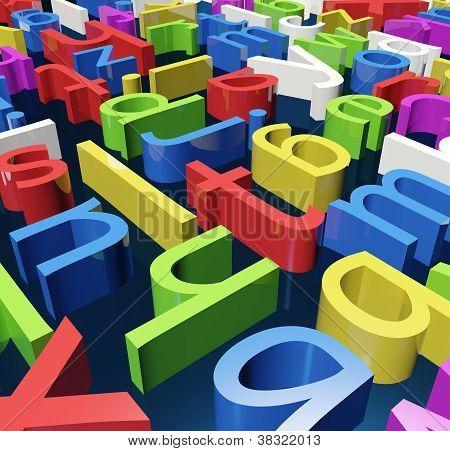 Color Letters