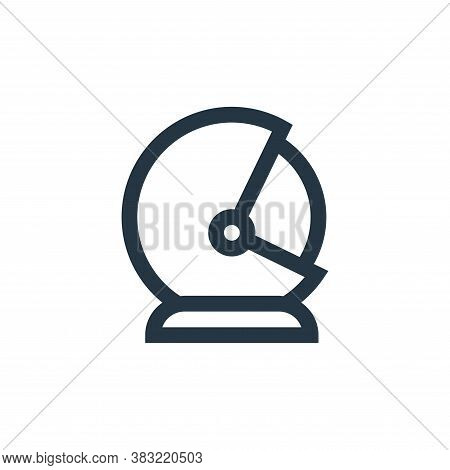 astronaut helmet icon isolated on white background from science collection. astronaut helmet icon tr