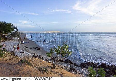 Jericoacoara, Tropical Beach Sunset View, Brazil, South America