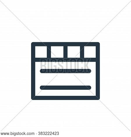notes icon isolated on white background from smartphone ui ux part collection. notes icon trendy and