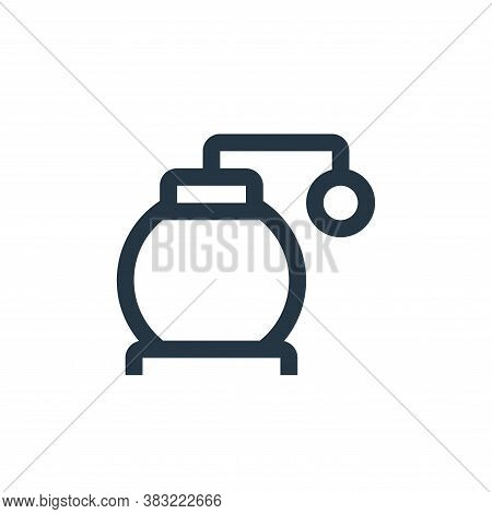 fuel pump icon isolated on white background from industry collection. fuel pump icon trendy and mode