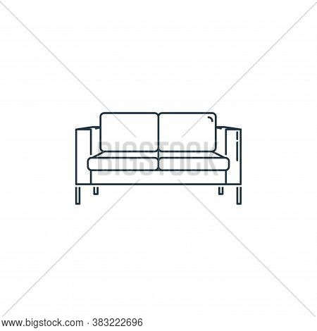 sofa icon isolated on white background from household collection. sofa icon trendy and modern sofa s