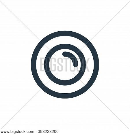 plate icon isolated on white background from kitchen collection. plate icon trendy and modern plate