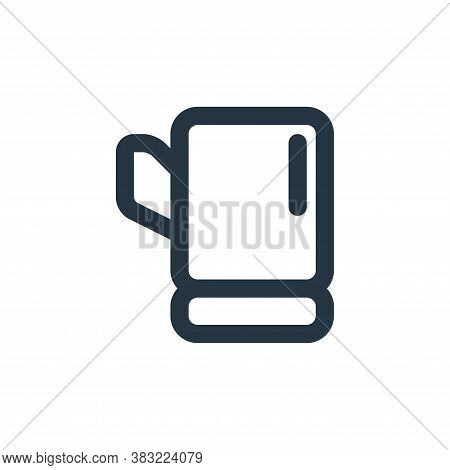 glove icon isolated on white background from kitchen collection. glove icon trendy and modern glove