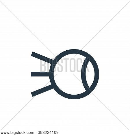 satellite icon isolated on white background from network collection. satellite icon trendy and moder