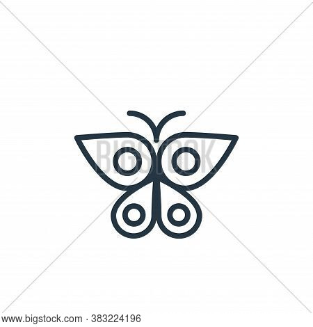 butterfly icon isolated on white background from spring collection. butterfly icon trendy and modern