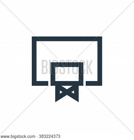 basketball equipment icon isolated on white background from sports collection. basketball equipment