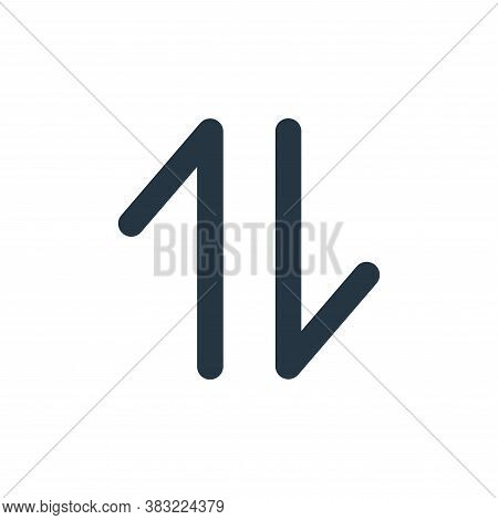 transfer icon isolated on white background from user interface collection. transfer icon trendy and