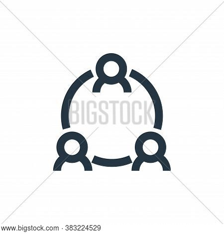 users icon isolated on white background from marketing collection. users icon trendy and modern user