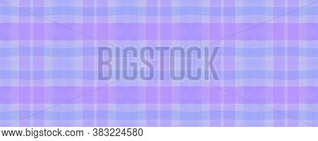 Pink Check Plaid. Watercolor Stripes Flannel. Hipster Gingham Wallpaper. Seamless Check Plaid. Scotl