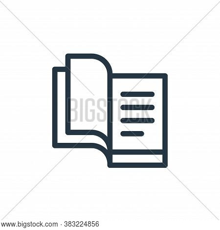 book icon isolated on white background from old age collection. book icon trendy and modern book sym
