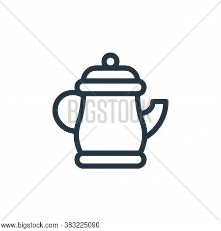 teapot icon isolated on white background from old age collection. teapot icon trendy and modern teap