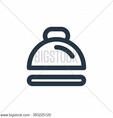 cover icon isolated on white background from kitchen collection. cover icon trendy and modern cover