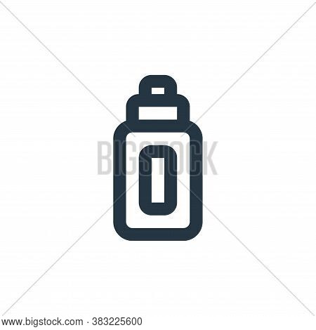 ketchup bottle icon isolated on white background from kitchen collection. ketchup bottle icon trendy