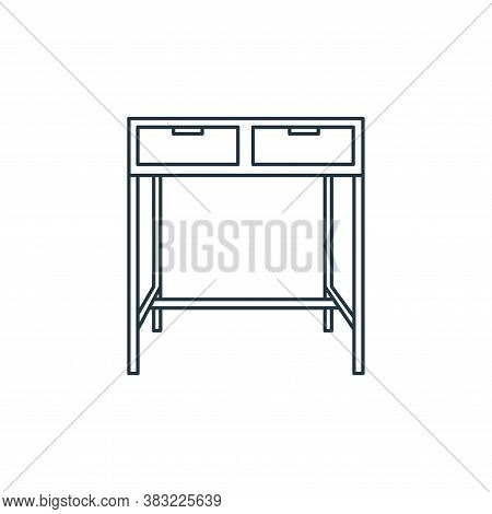 table icon isolated on white background from household collection. table icon trendy and modern tabl