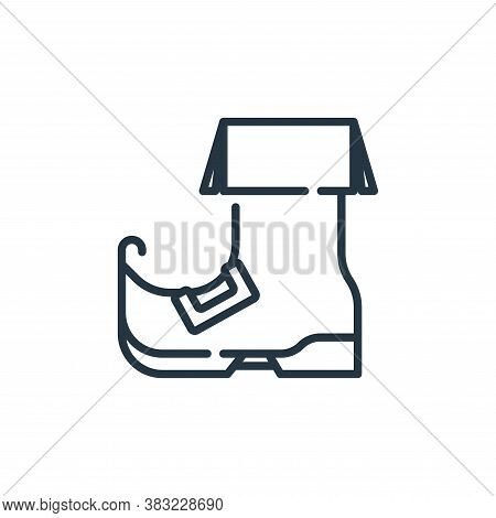 boot icon isolated on white background from st patricks day collection. boot icon trendy and modern