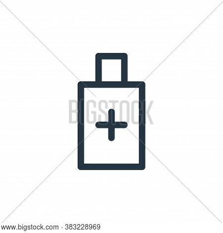 battery icon isolated on white background from smartphone ui ux part collection. battery icon trendy