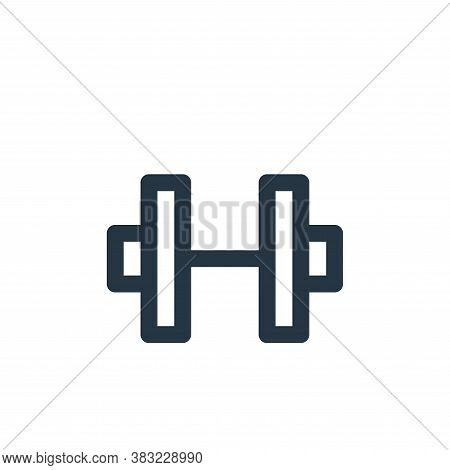 exercises icon isolated on white background from fitness collection. exercises icon trendy and moder