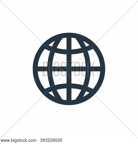 world wide web icon isolated on white background from network collection. world wide web icon trendy