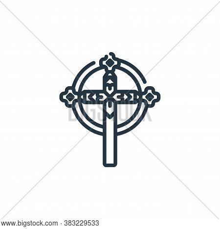 faith icon isolated on white background from st patricks day collection. faith icon trendy and moder