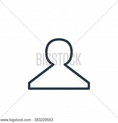 stamp icon isolated on white background from shopping and ecomerce collection. stamp icon trendy and