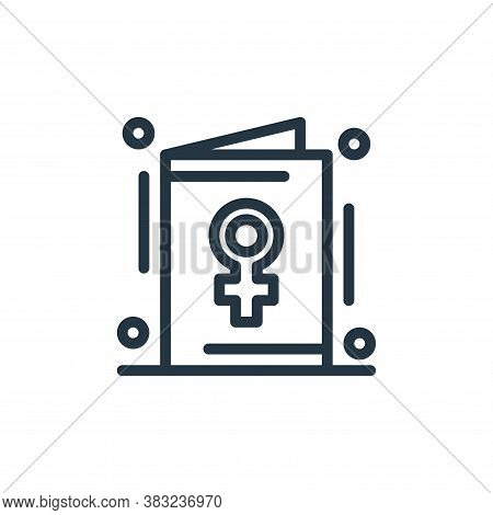 invite icon isolated on white background from women day collection. invite icon trendy and modern in