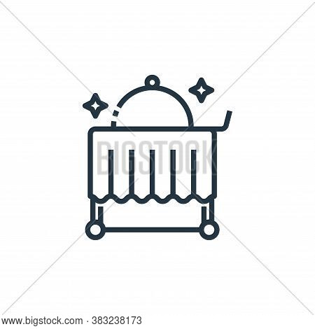 room service icon isolated on white background from hotel essentials collection. room service icon t